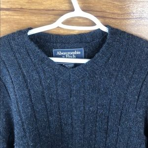 Abercrombie & Fitch Sweaters - Abercrombie & Fitch Men's  Lambswool Sweater